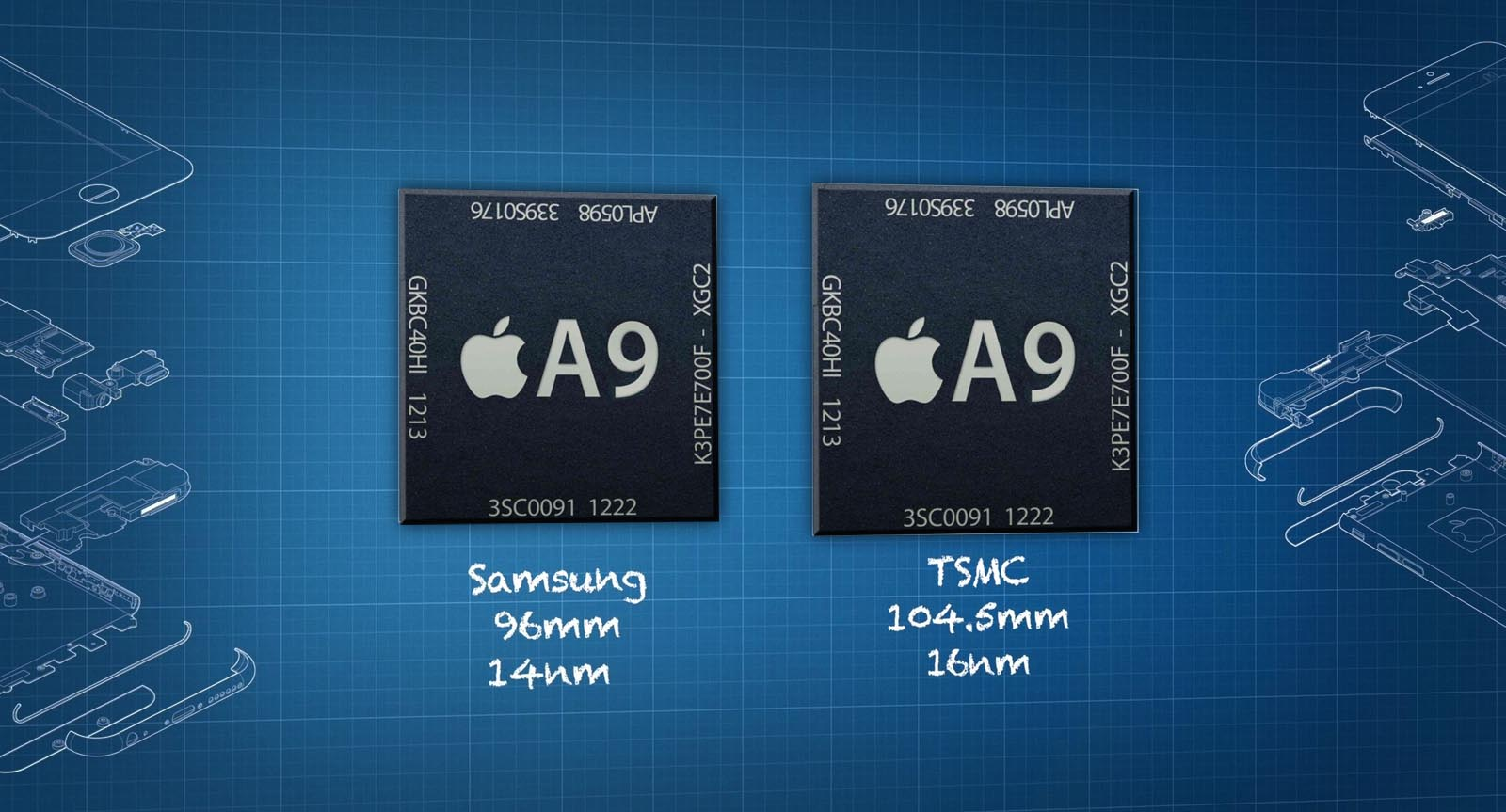 Chips chipgate A9 Apple