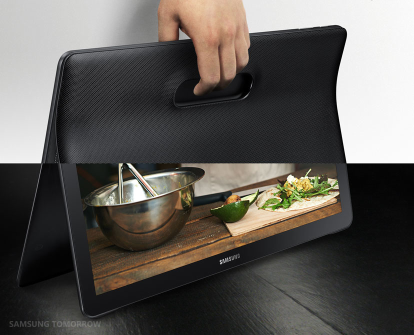 Samsung presenta oficialmente la «mega tableta» Galaxy View