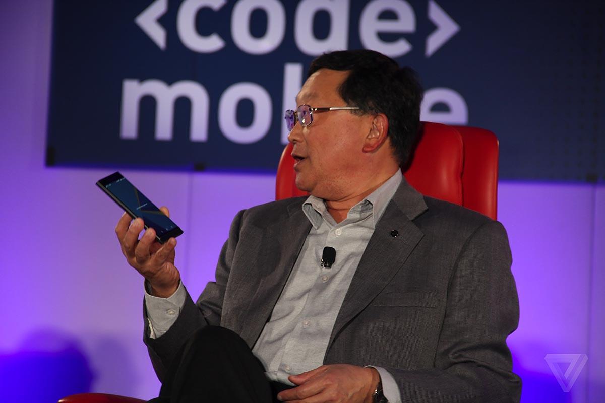 John Chen Priv ultimo smartphone