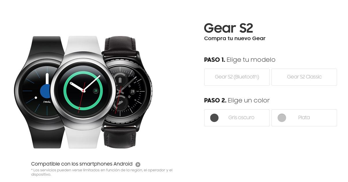 Samsung Gear S2 a la venta 2