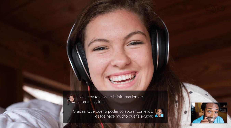El traductor de Skype llega al escritorio de Windows