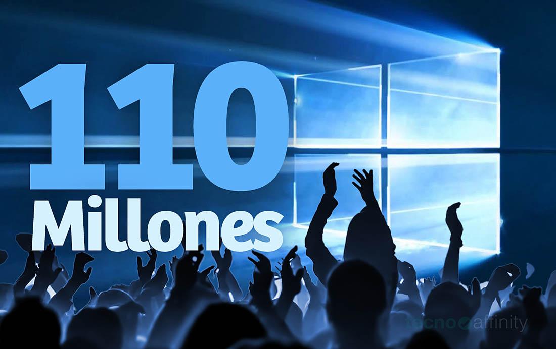 Windows 10 110 millones