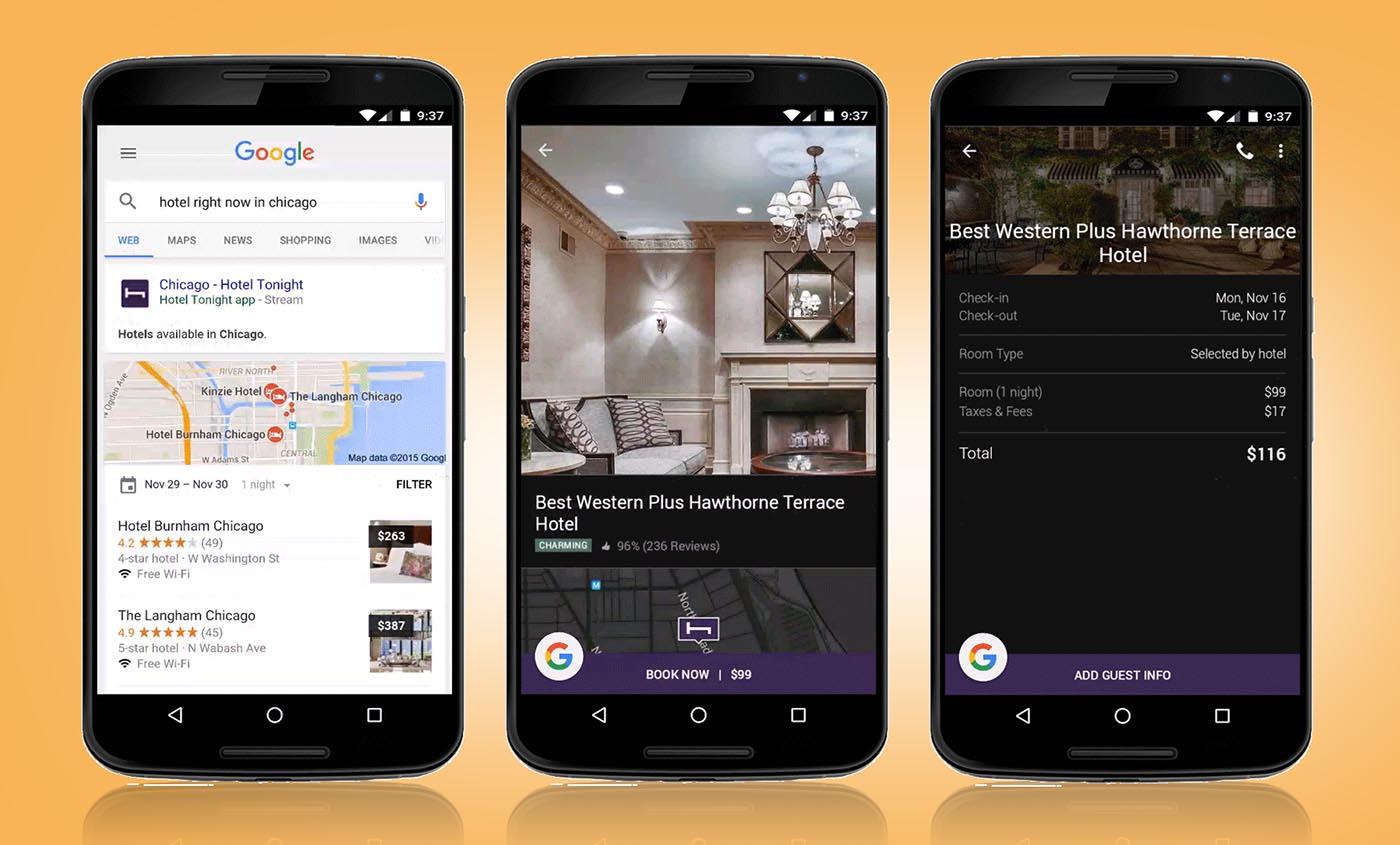 Apps straming Google