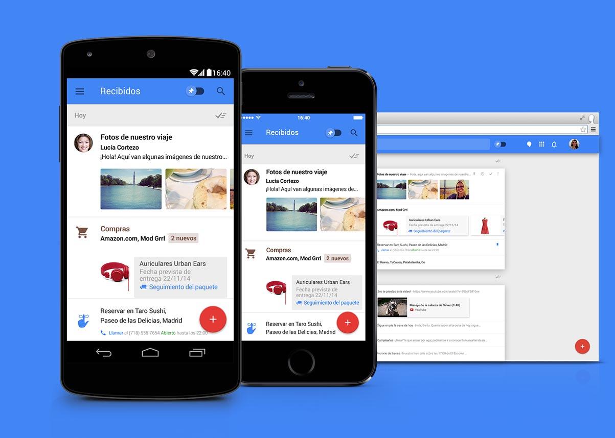 Google Inbox responderá por ti tus e-mails
