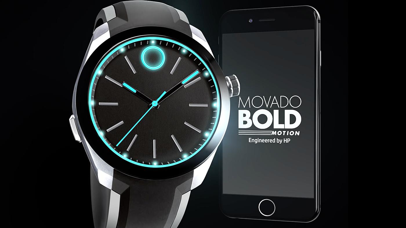 HP y Movado Bold Motion, un reloj tradicional y a la vez inteligente