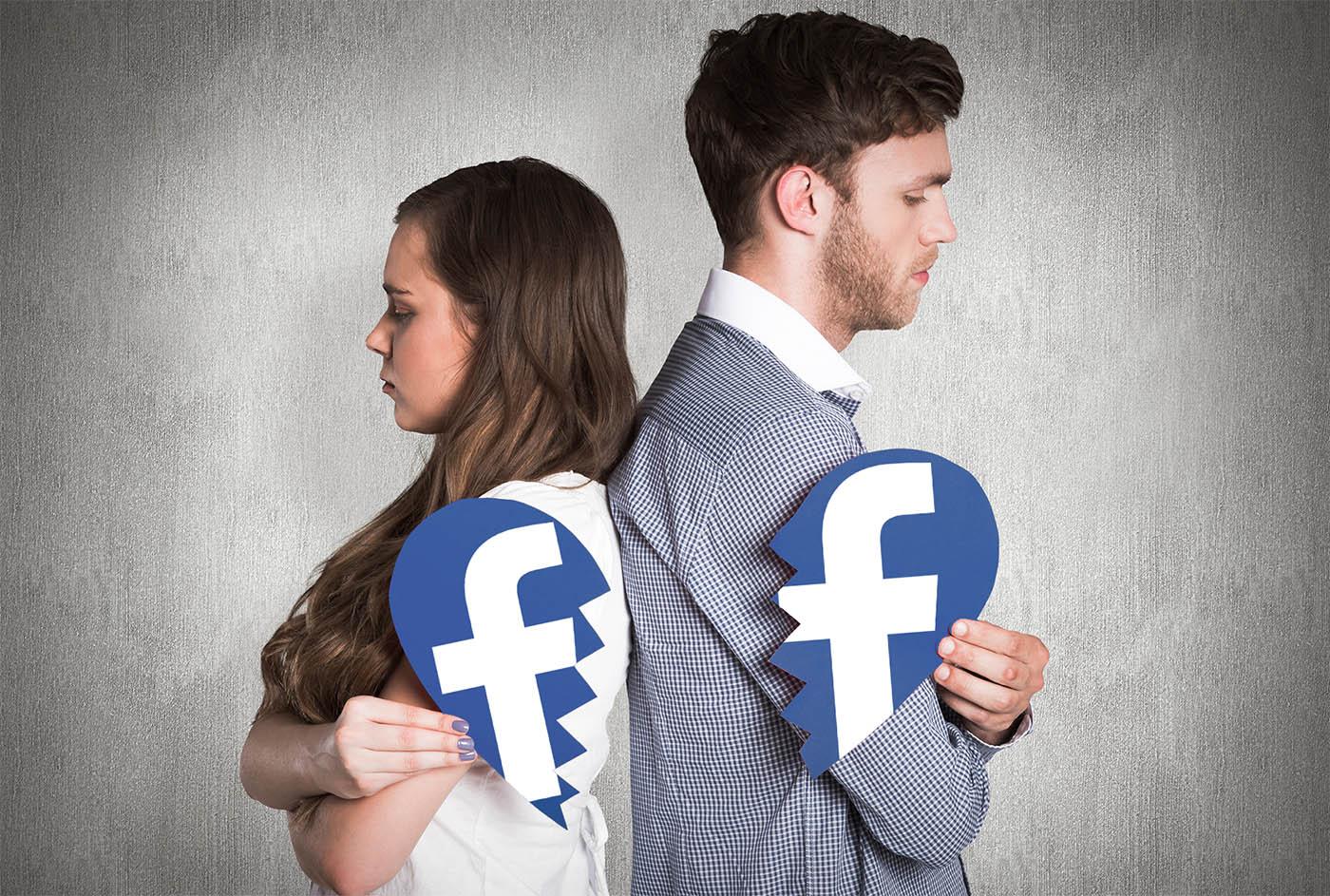 Facebook te ayudará a superar una ruptura de pareja