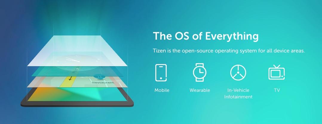 Tizen OS banner