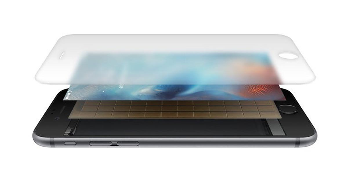 3D Touch esquema iPhone