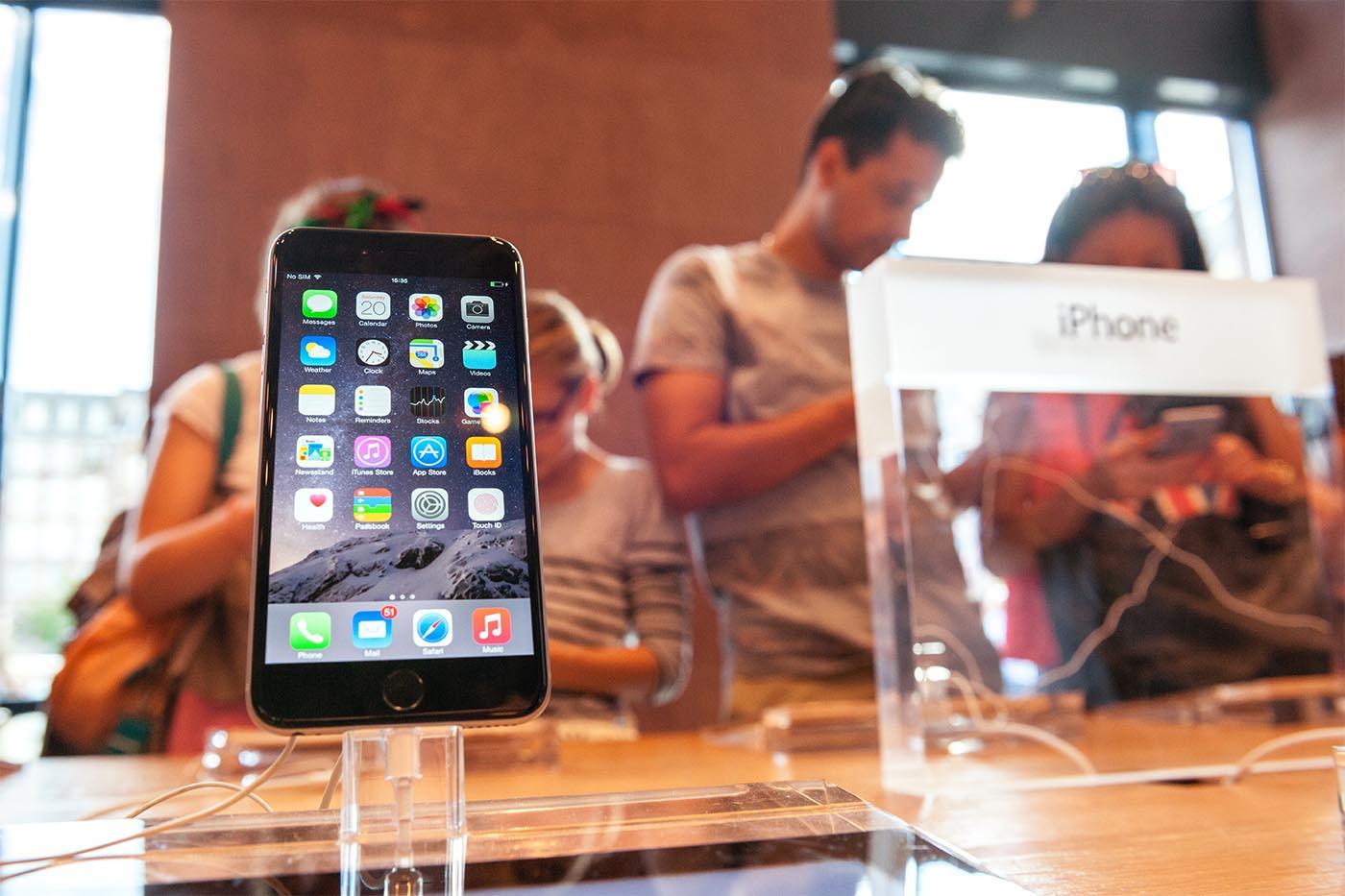 Apple iPhone 6 en tienda
