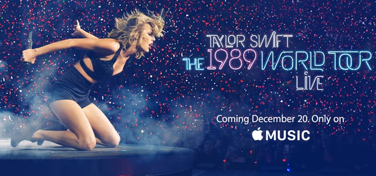 Apple y Taylor Swift