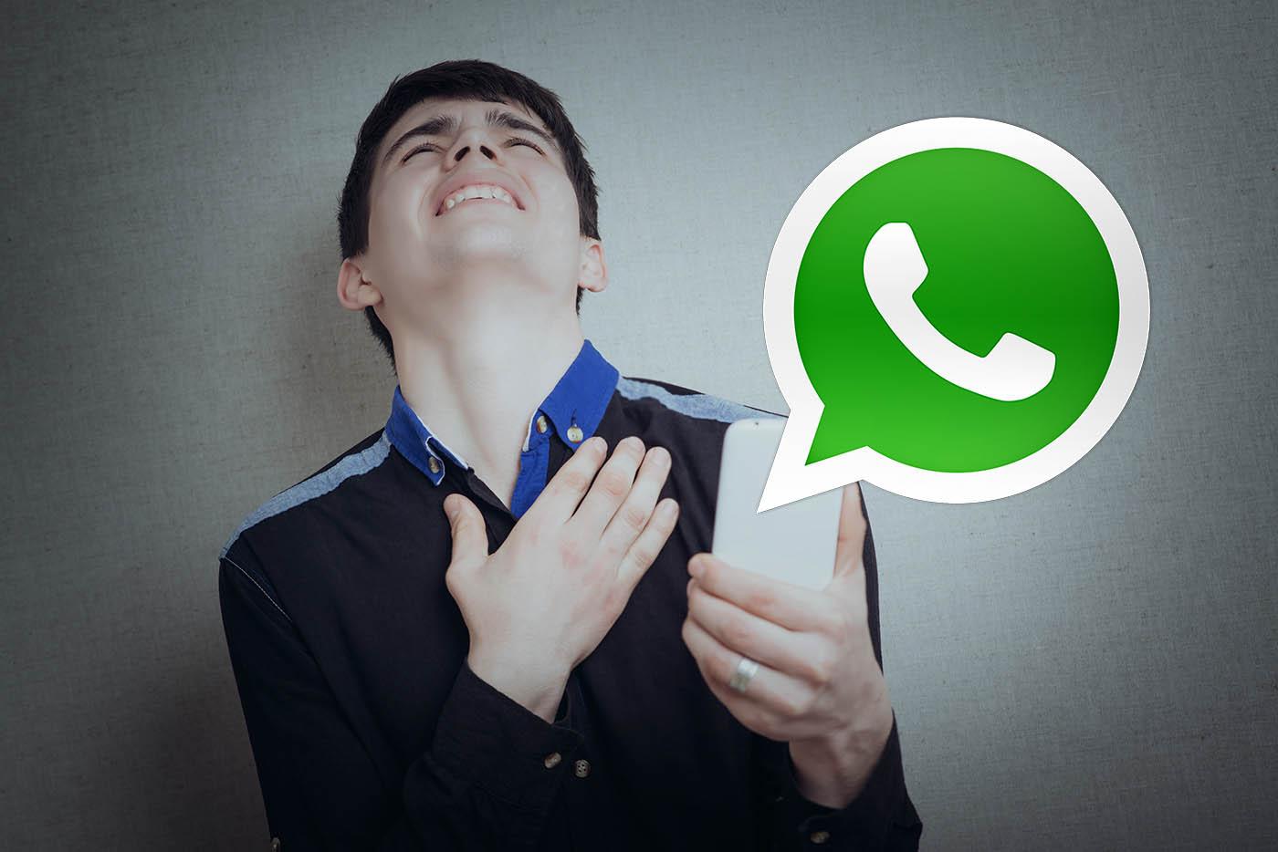 WhatsApp mensaje equivocado