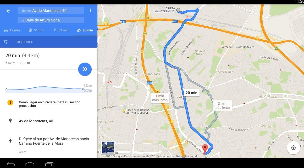 Las Rutas En Bici Llegan A Google Maps