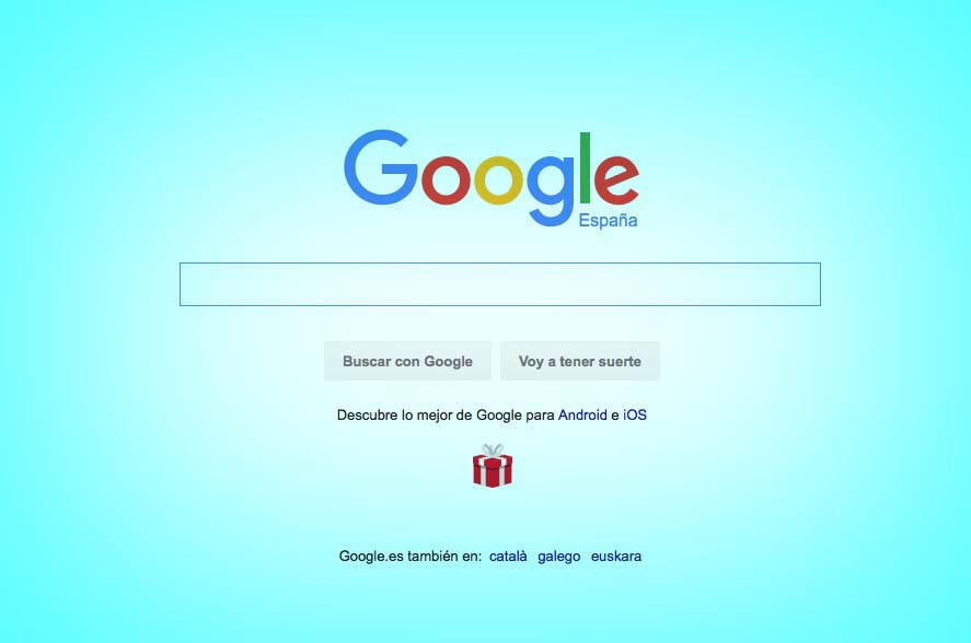 Google pagina principal