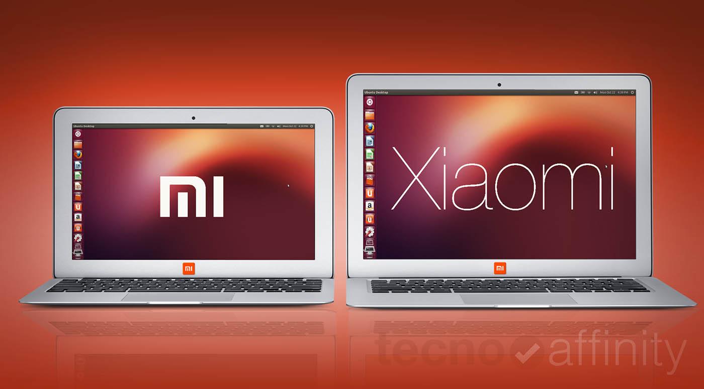 Portatil Xiaomi Apertura