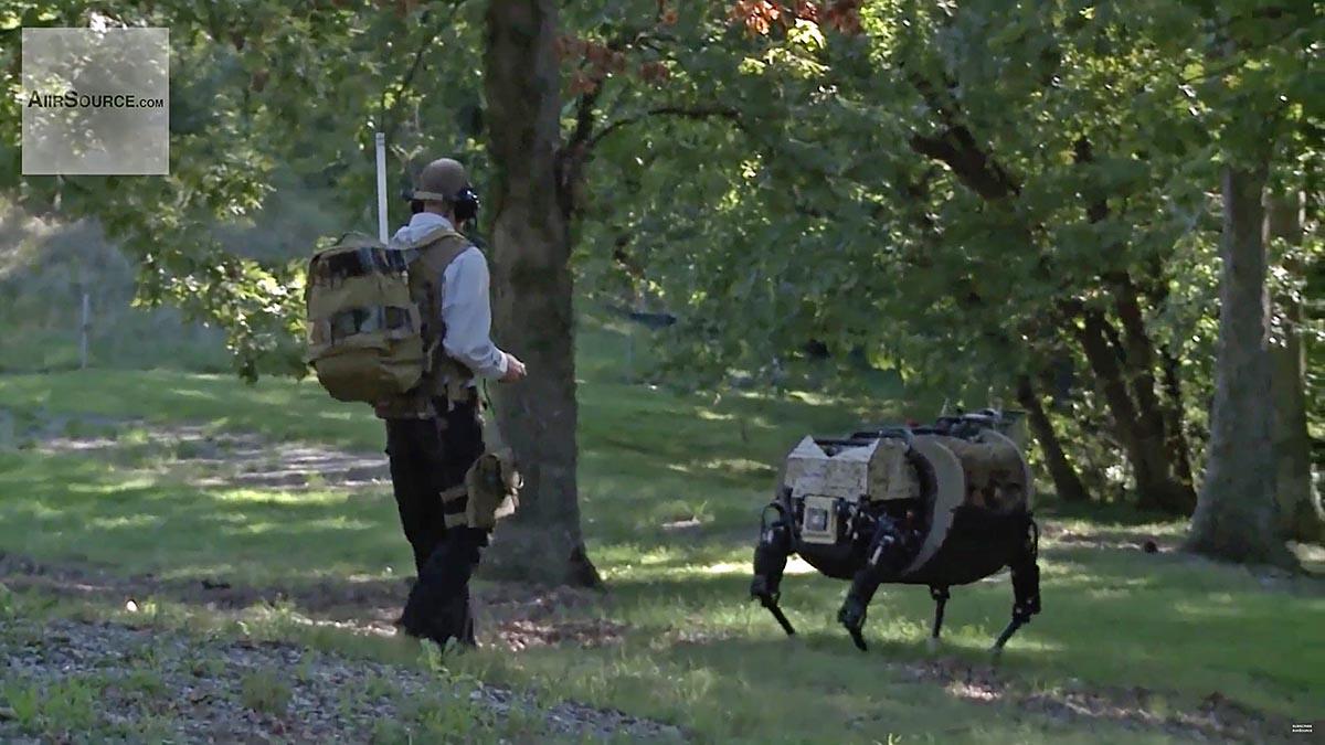 Robot Boston Dynamics 2