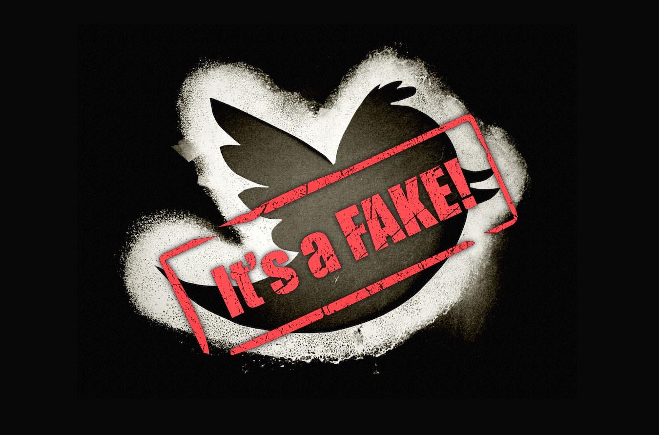Twitter fake