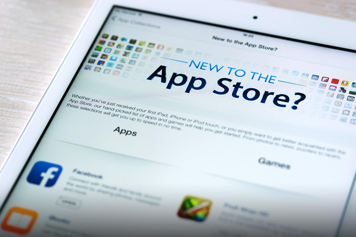 App Store iPad apple