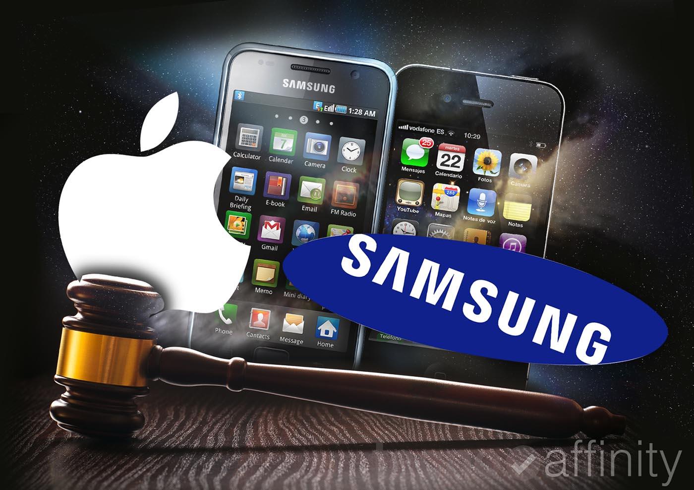 Apple vs Samsung enero 2016