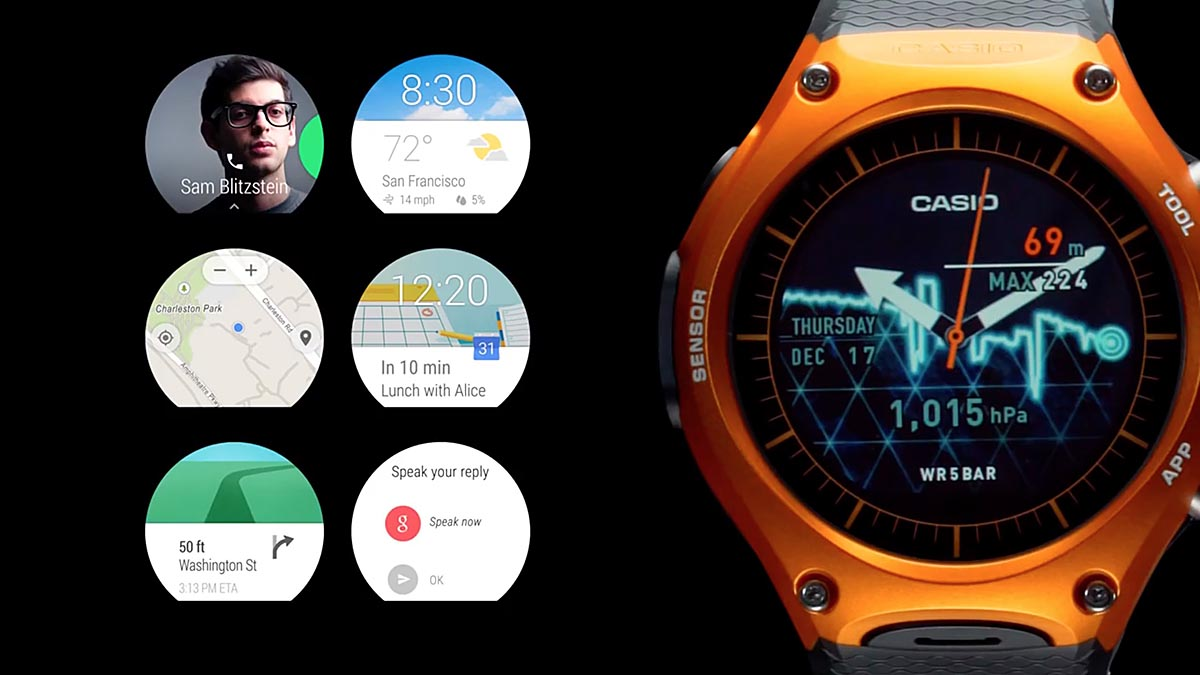 ba8a690d2924 Casio presenta su primer reloj Android Wear