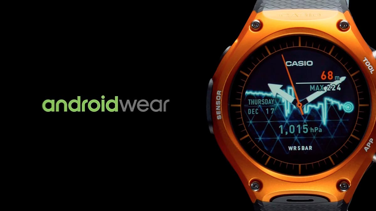 Casio Android Wear WSD-F10-02