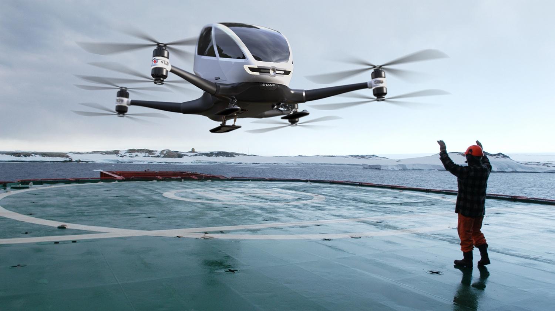 Ehang Dron autonomo-01