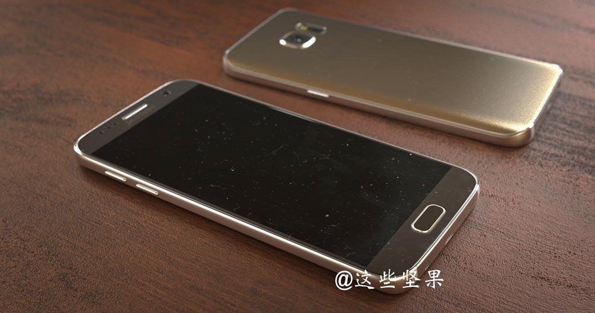 Galaxy S7 nuevo render 4