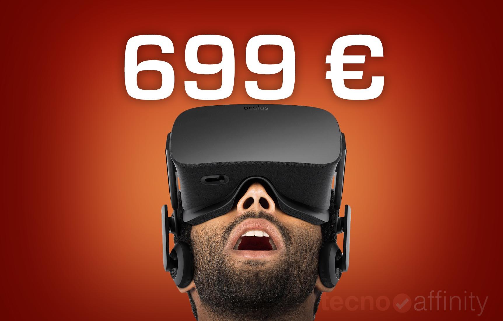 Oculus Rift final precio