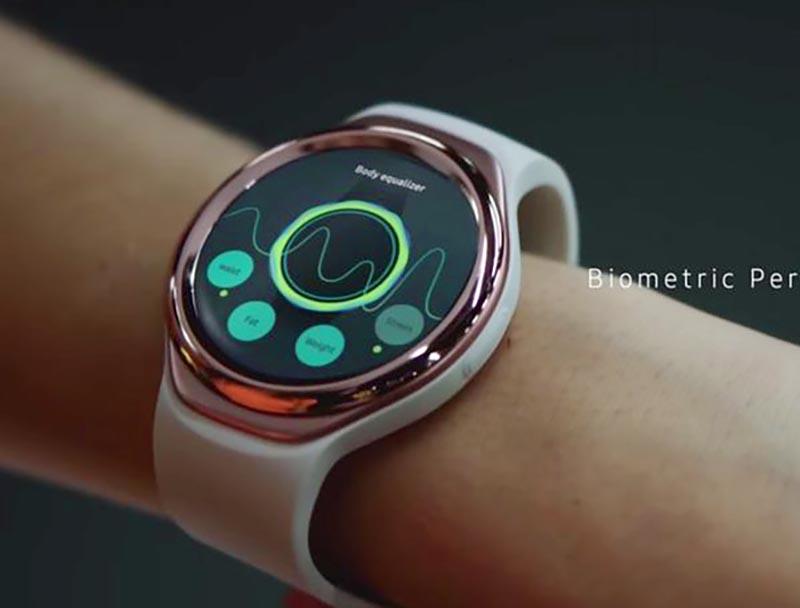 Pulsera Samsung Gear deporte-apertura