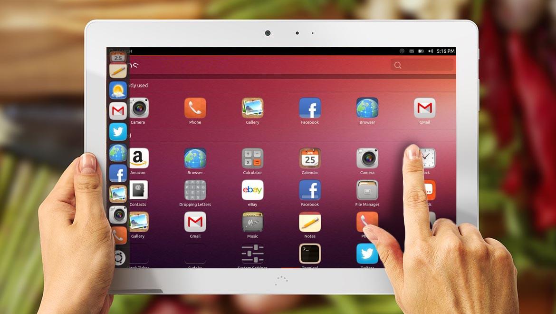 Tableta Ubuntu BQ