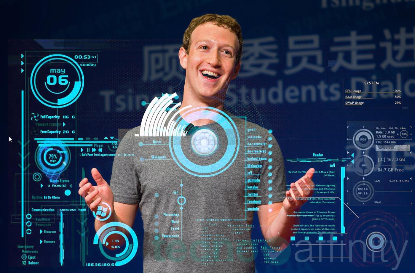 Zuckerberg Asistente Jarvis Inteligencia artificial