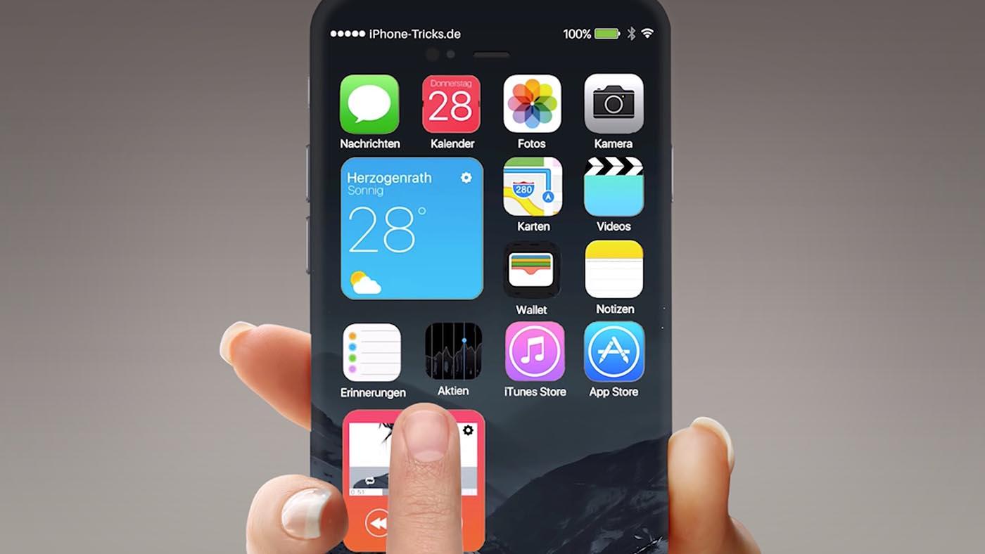 iPhone 7 concepto interfaz 1