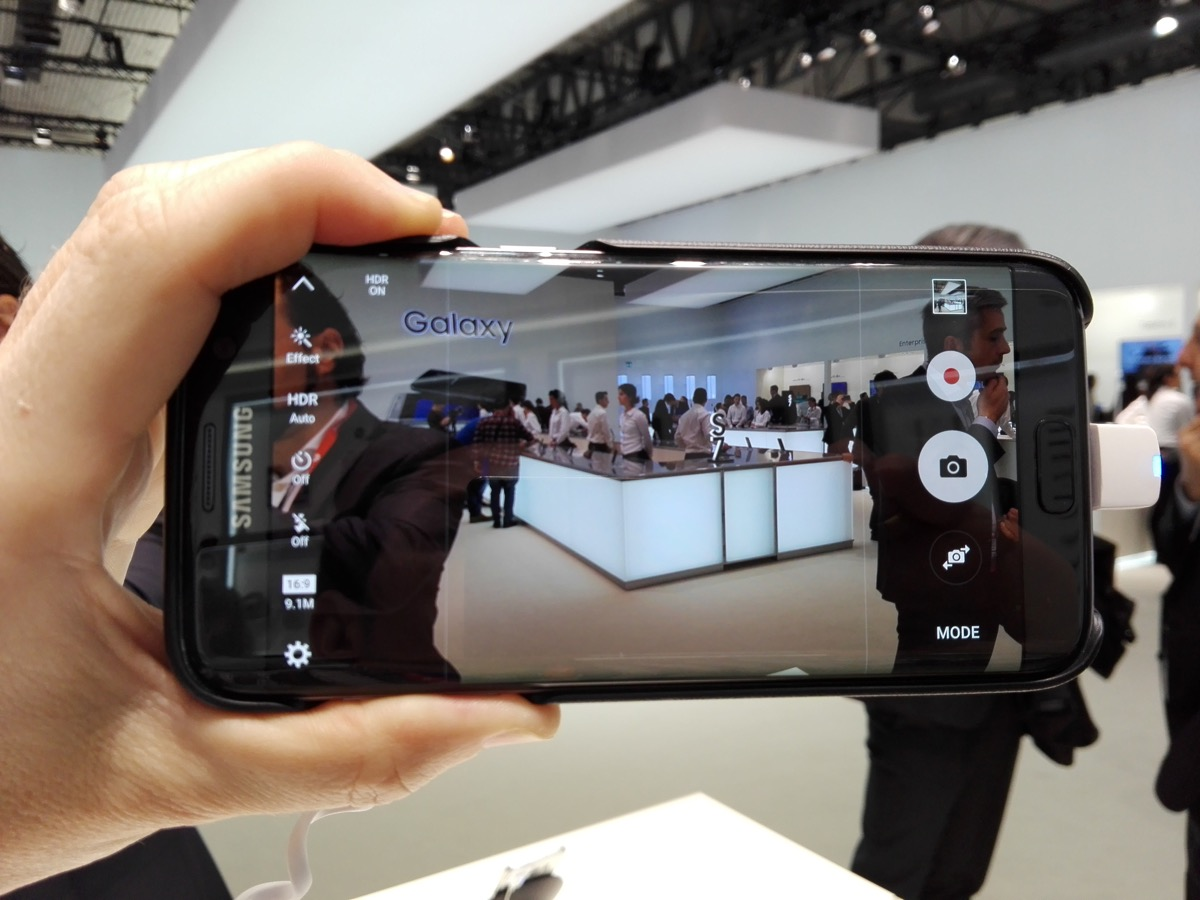 Samsung Galaxy S7: cargado de accesorios