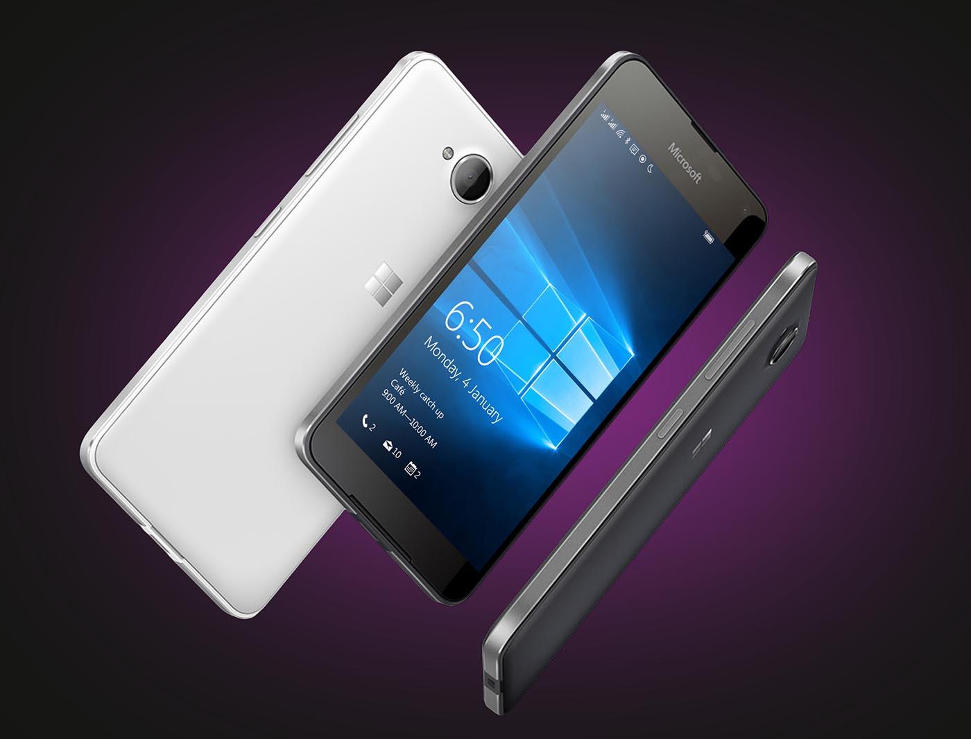 Microsoft Lumia 650 apertura