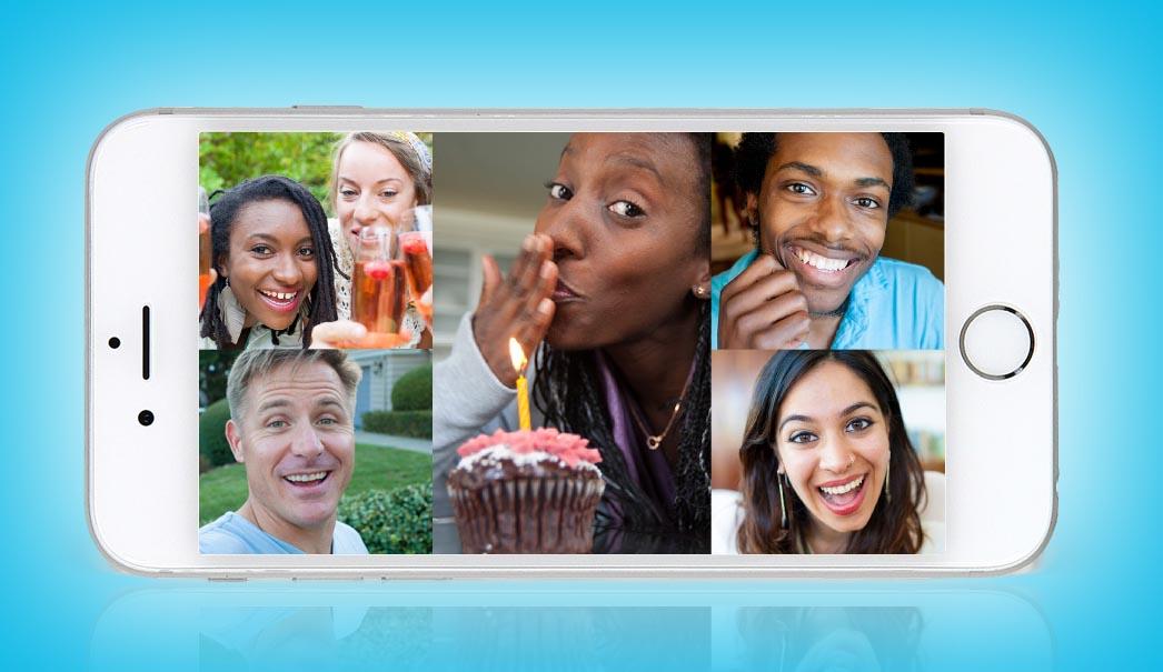 Ya puedes hacer llamadas de vídeo en grupo con Skype desde tu móvil