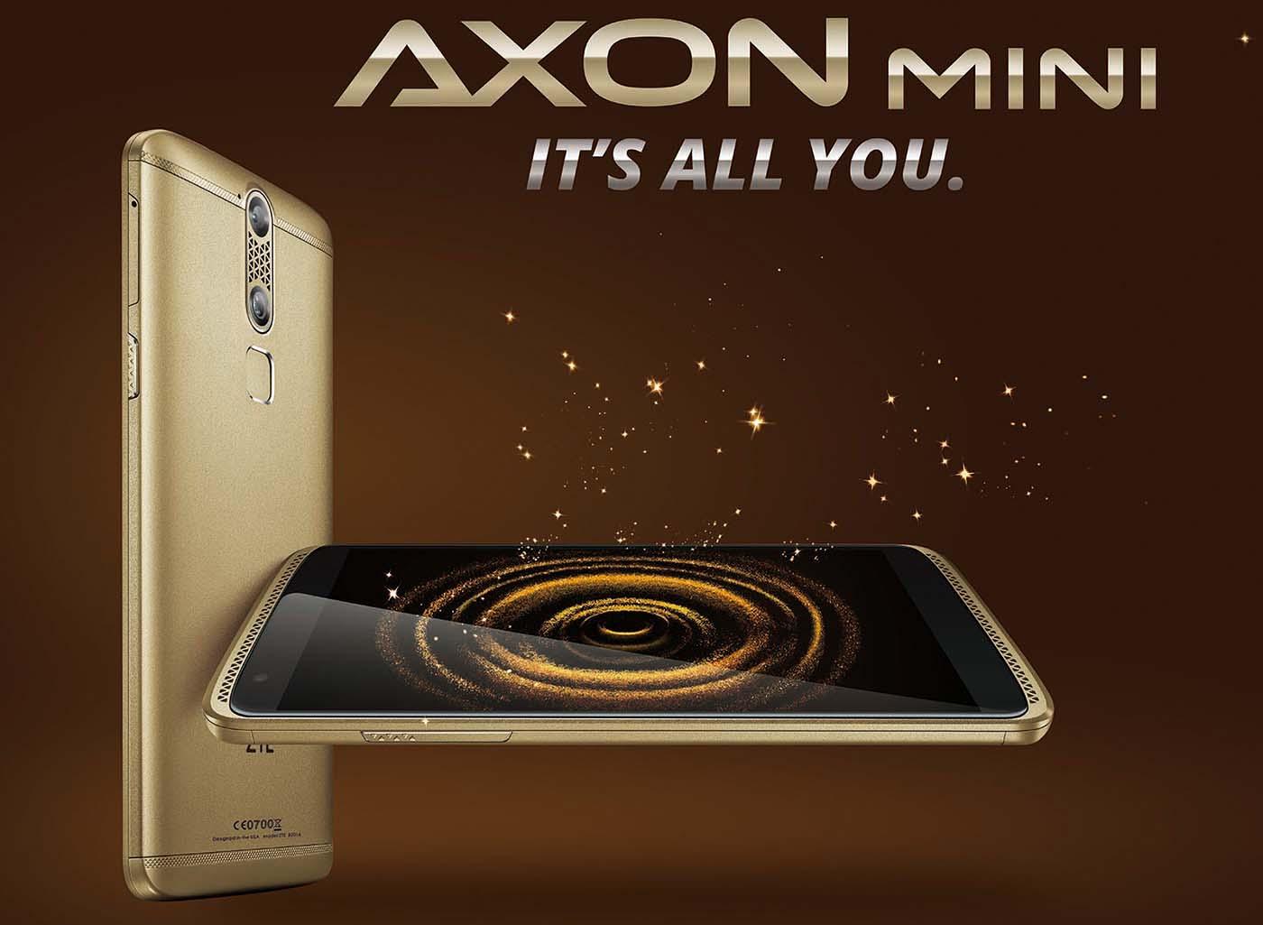 ZTE Axon Mini Apertura