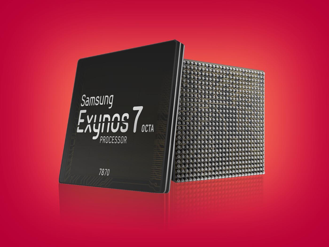 Procesador Exynos 7870 de Samsung