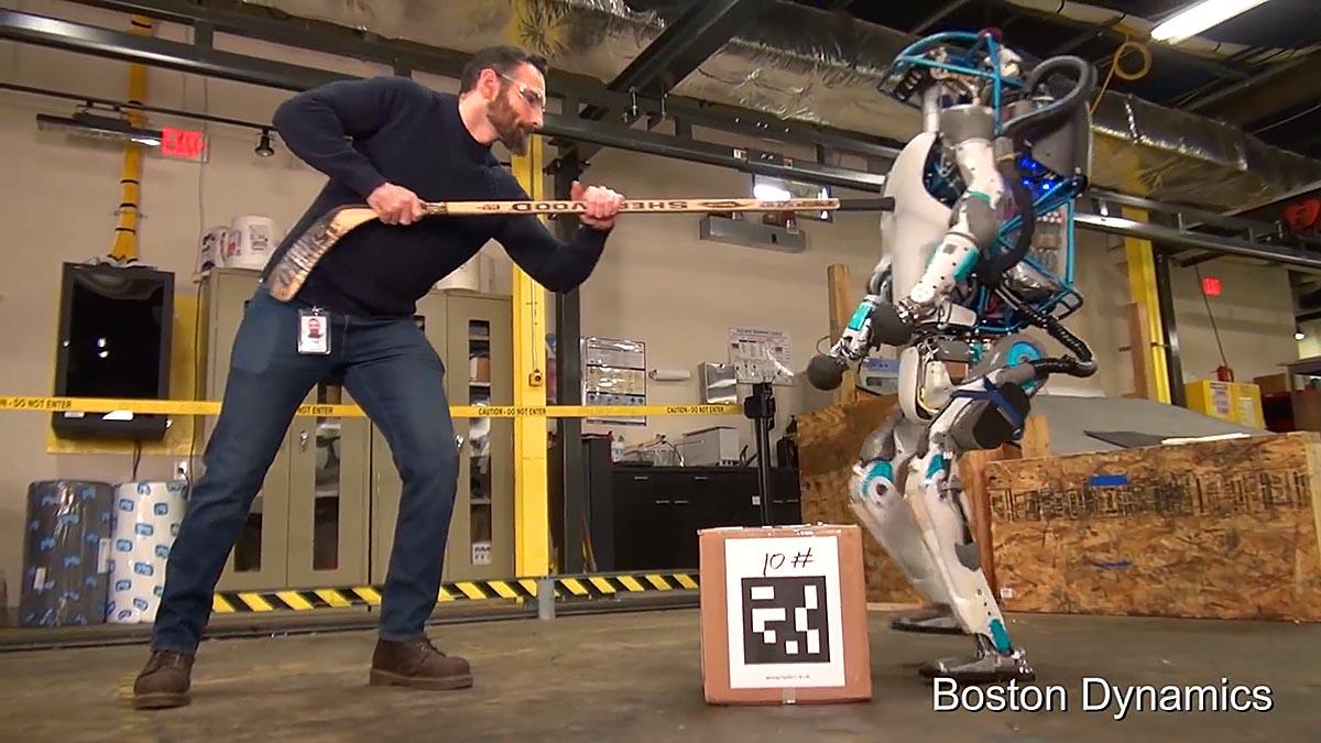 Altas Boston Dynamics Robot