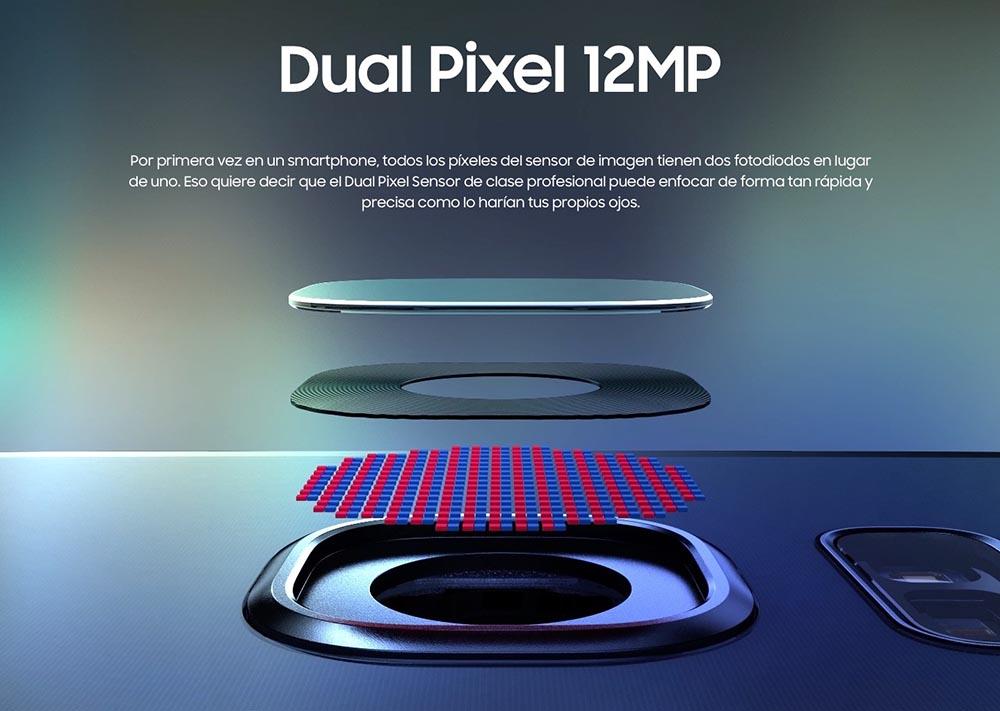 Camara dual pixel Galaxy s7