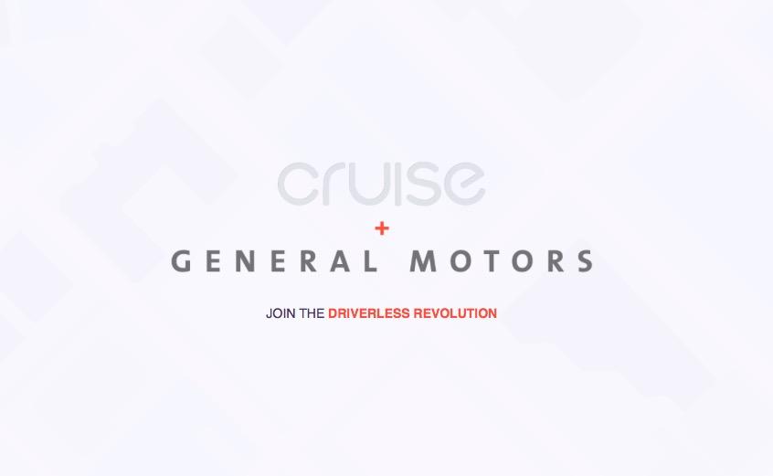 Cruise mas General Motors