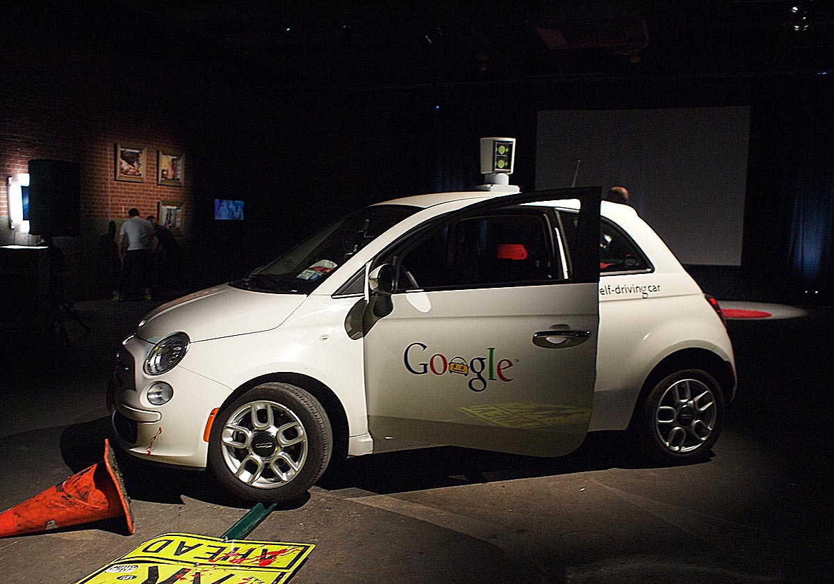 Google vehiculo accidente