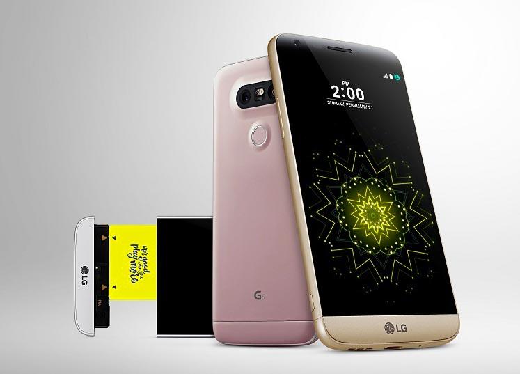 Accesorios y LG G5