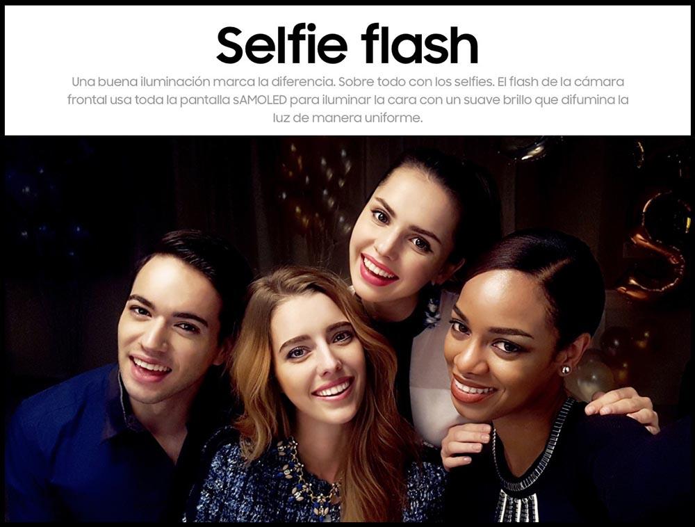 Selfie Flash Galaxy S7