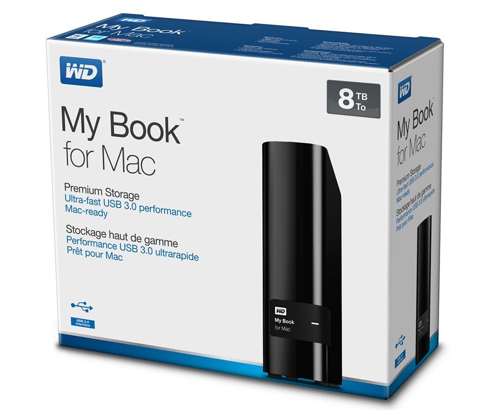 WD My Book Mac