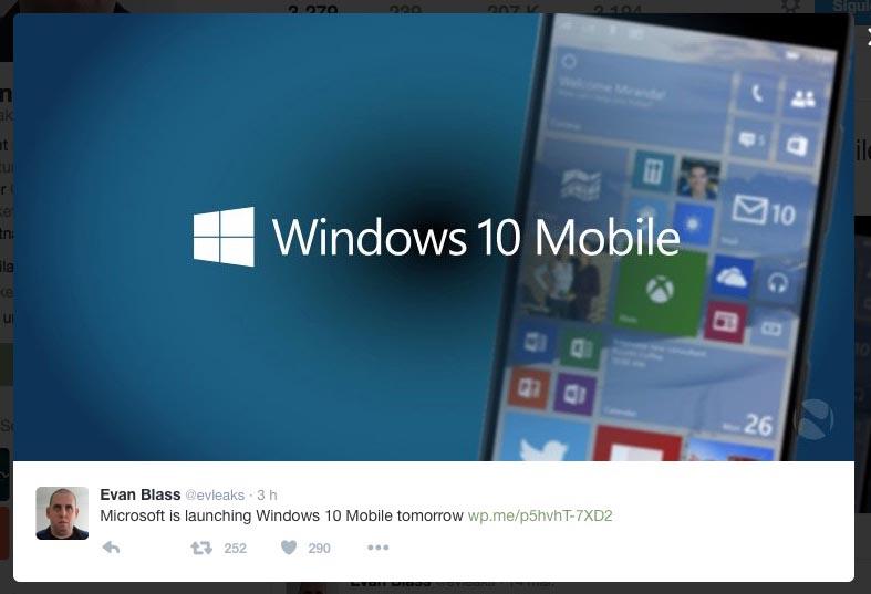 Windows 10 evleaks