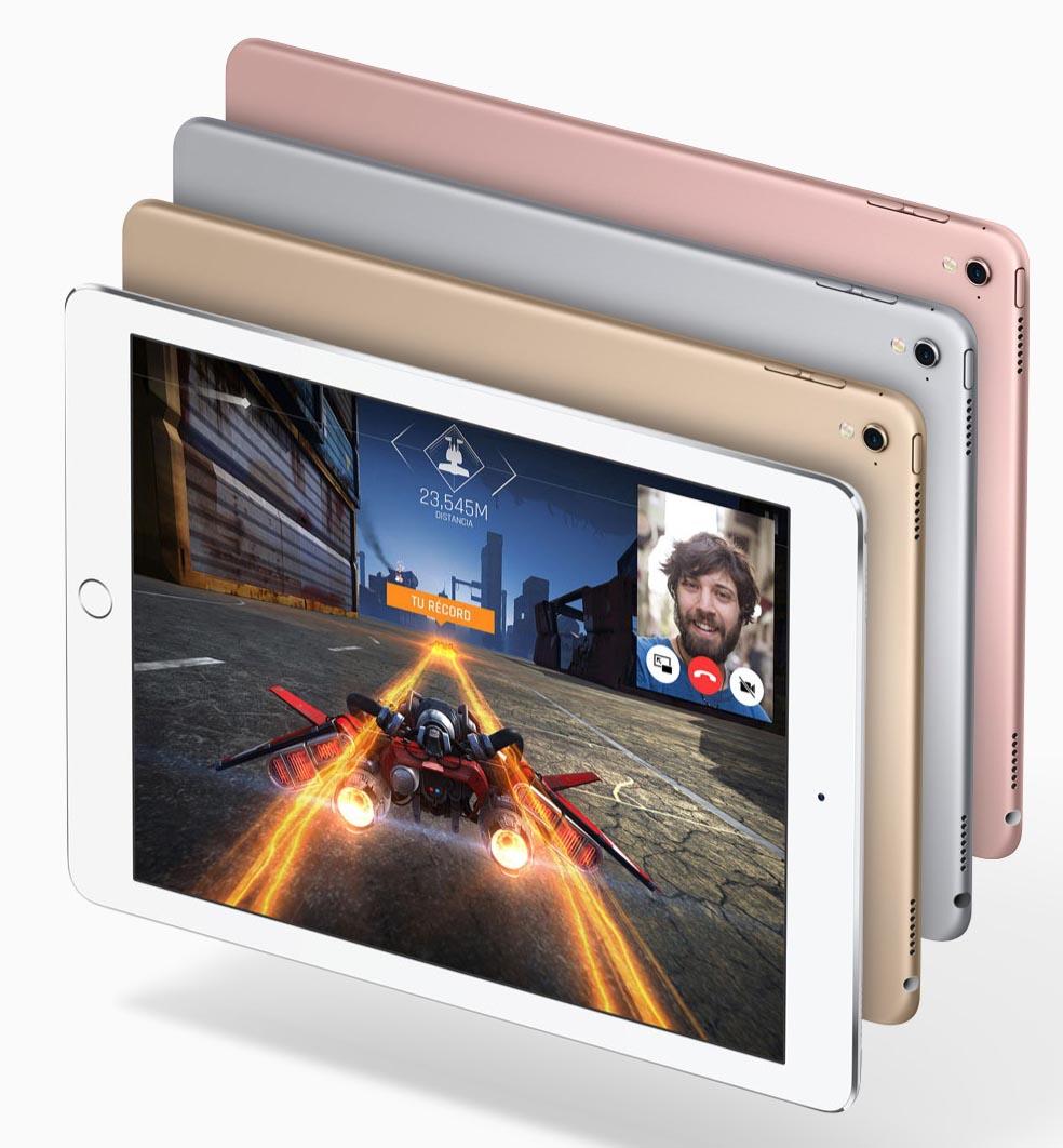 iPad Pro 9-7 camara acabados