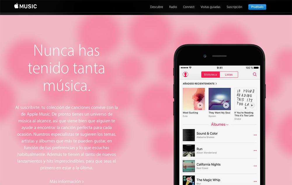 Apple Music ya tiene 13 millones de usuarios de pago