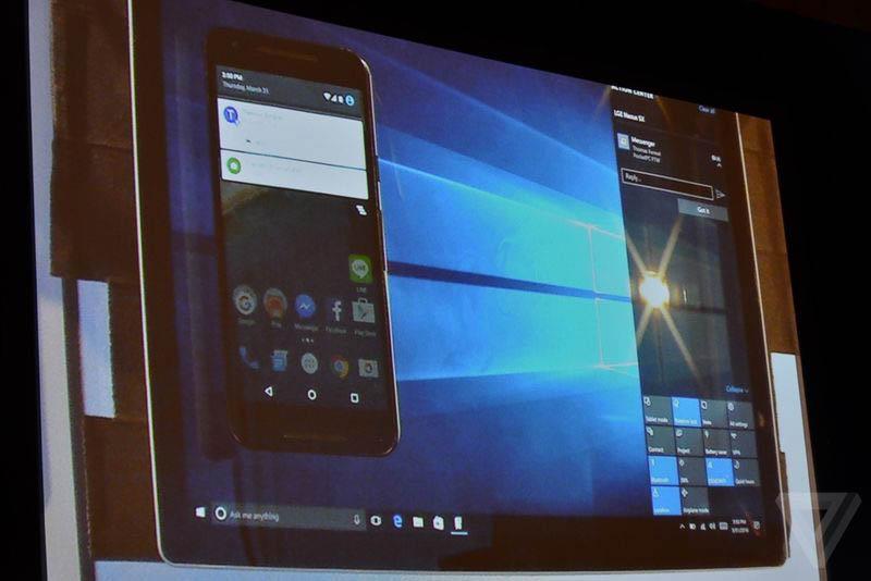 Continuidad Android Windows integracion