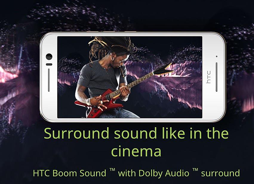 HTC One S9 Sonido