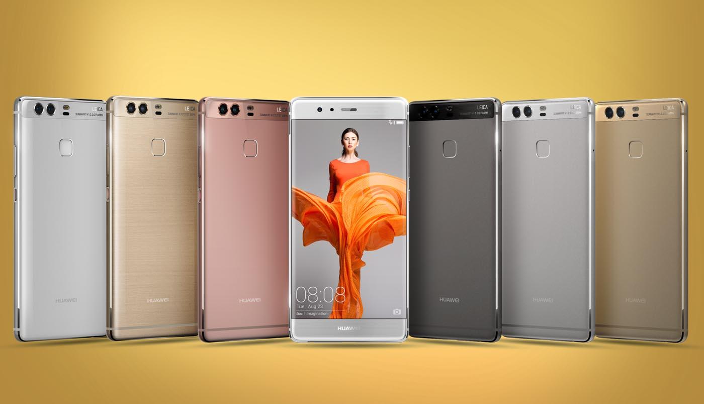Huawei P9 gama