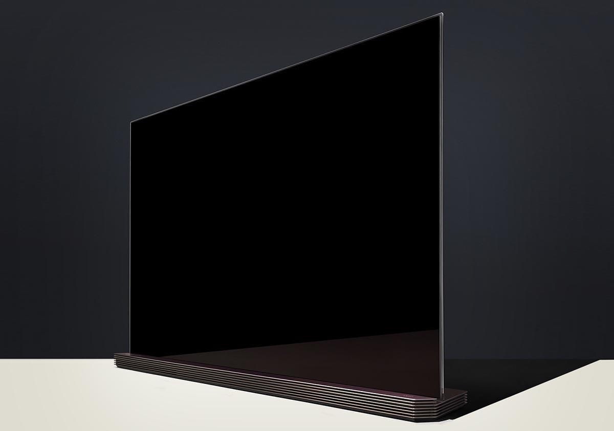 LG Signature TV Apertura